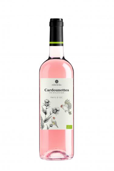 les cardounettes vin rose igp