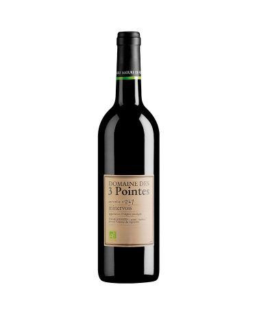 domaine des 3 pointes vin rouge bio