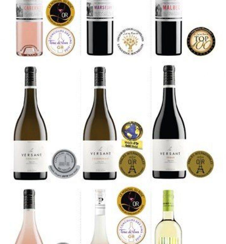 vignerons pays enserune recompenses vins